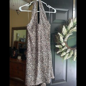 NWT American Eagle Leopard Dress